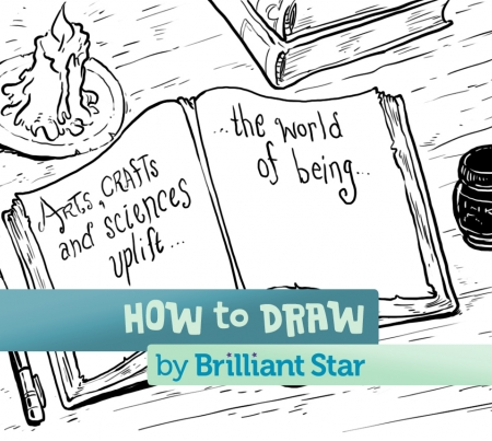 How to Draw a Cutaway House | Brilliant Star